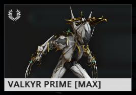 Warframe Valkyr Prime ES