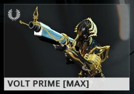 Warframe Volt Prime ES