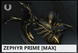 Warframe Zephyr Prime ES