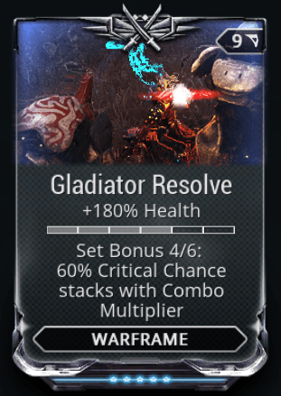 Gladiator Resolve 4-6 Mods Set