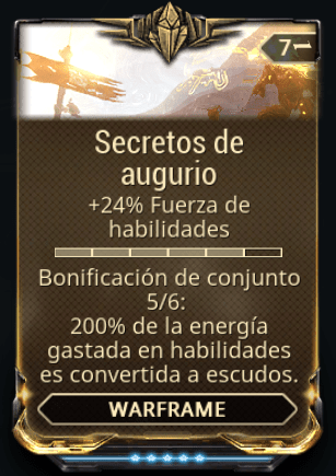 Secretos de Augurio 5-6 Conjunto de Mods