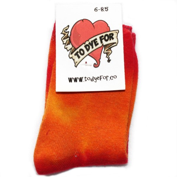 orange and red stripe