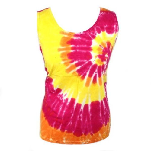 Ladies Vest - Sunshine swirl