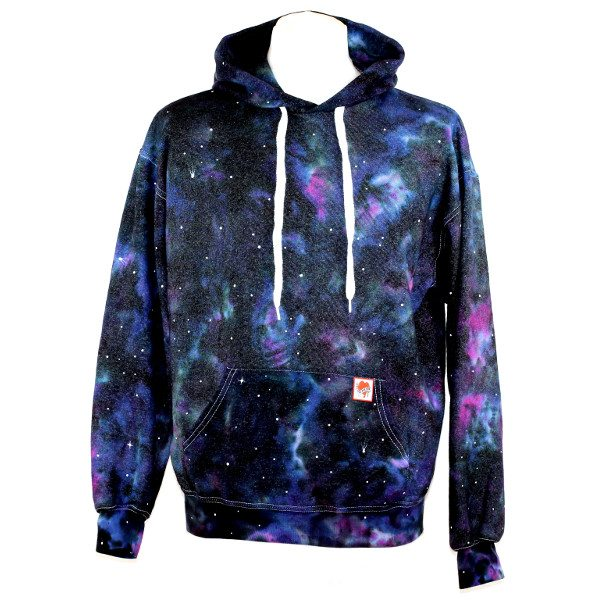 custom dyed adults hoody nebula hoody