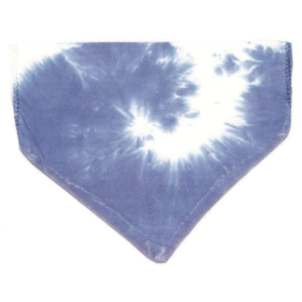 pet bandana - navy swirl