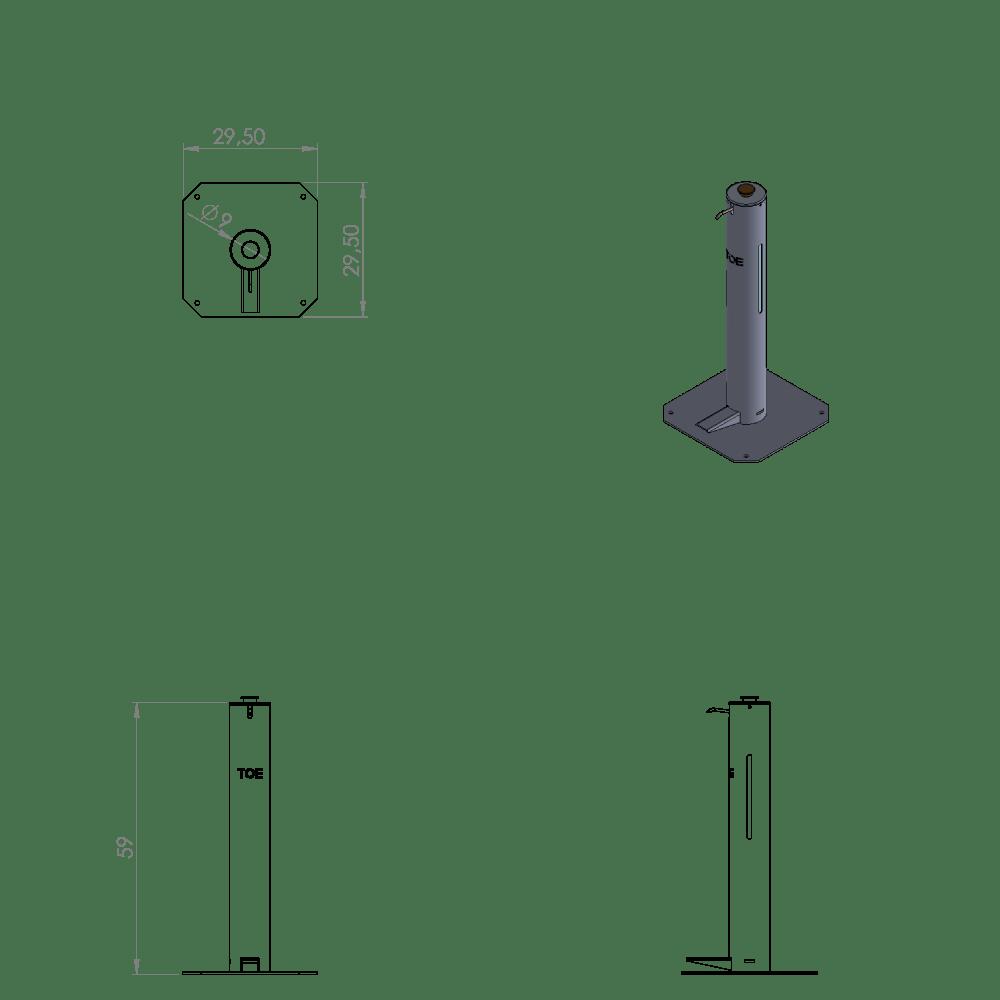 TÓTEM S - 56 cm.