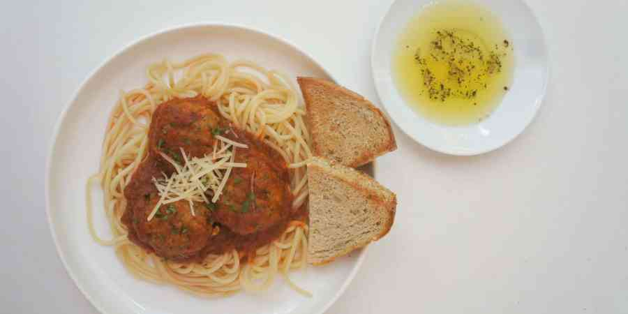 Baked ground turkey meatballs are the perfect healthy addition to any dinner! Serve them over spaghetti, with rice or in a meatball sub loaded with cheese and you'll have a dinner the whole family loves!