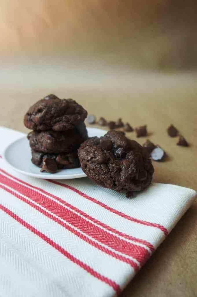 Gooey Brownie Cookies