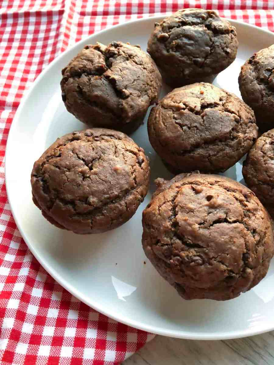 A simple, yet delicious family breakfast or dessert recipe. Made with chocolate chunks and Nutella, this muffin is chewy and dense just like your favorite chocolate cake! A little bit of buttermilk goes a long way in making the perfect cake (and no worries if you don't have buttermilk, I've got you covered with a substitution!).