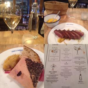 Canard & Champagneパリのオススメ鴨料理屋さん!パリで美味しくお手ごろに鴨料理を堪能するなら絶対にここ!
