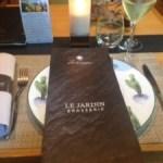 【シャンパーニュ旅行記13】ランスの超お勧めレストラン!お手頃価格で5つ星ホテルで食事ができるLe Jardin