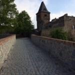 ダルムシュタット フランケンシュタイン城 かの有名な小説の基になったらしいいお城