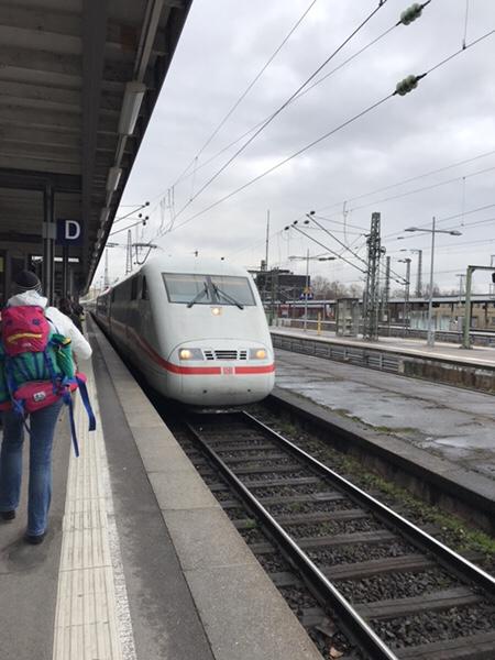 ドイツの新幹線ICEに効率的に乗る方法