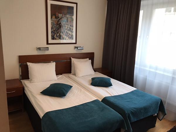 ストックホルム中心部にある便利なホテルBest Western Kom Hotel Stockholm宿泊記お部屋