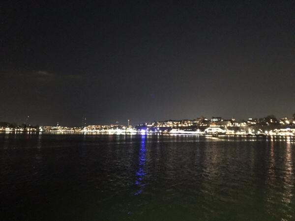 ストックホルム夜景めぐり