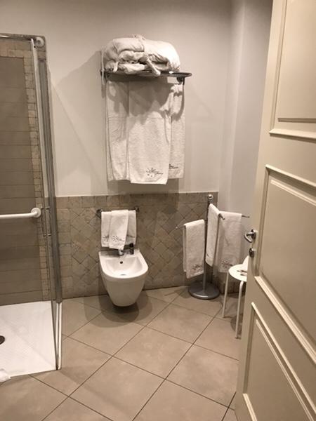 Hotel Mea 滞在記バスルーム1