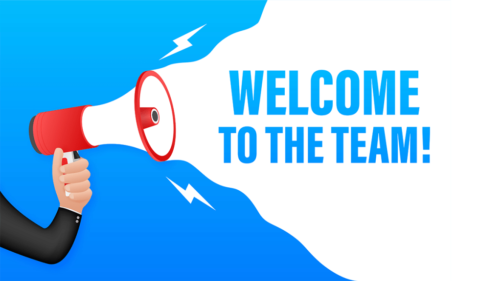 Welcome-to-the-team