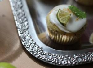 Mohn Limetten Muffin