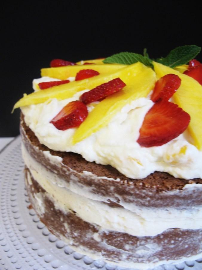 Mango Erdbeer Torte