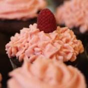 Schoko Himbeer Cupcake