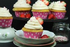 Erdbeer-Cupcakes