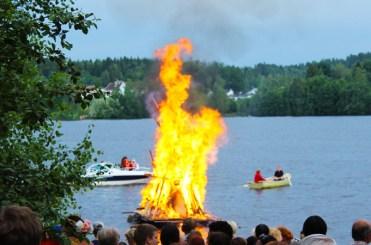 Finnland Tampere Juhannuskokko
