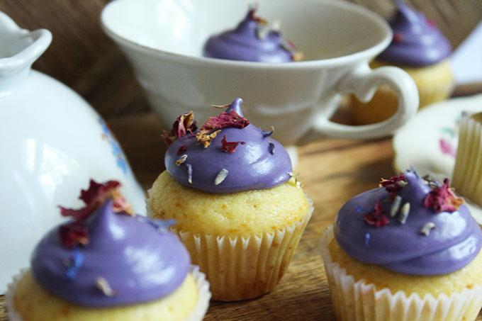 Cupcakes Vanille Lavendel
