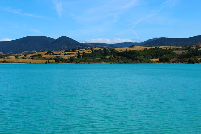 Stausee Nordspanien Embalse de Alloz