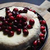 Weißer Schokoladenkuchen - Vit Kladdkaka