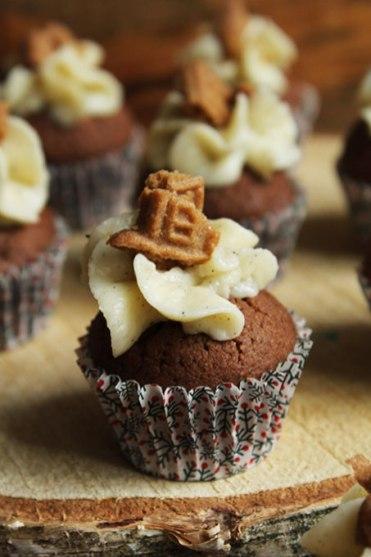 Mini Cupcakes Spekulatius