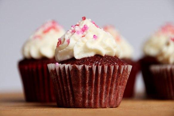 Red Velvet Cupcakes Tortchen Made In Berlin