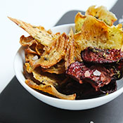 Gesunde Bete Chips