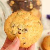 Schoko-Erdnuss-Cookies