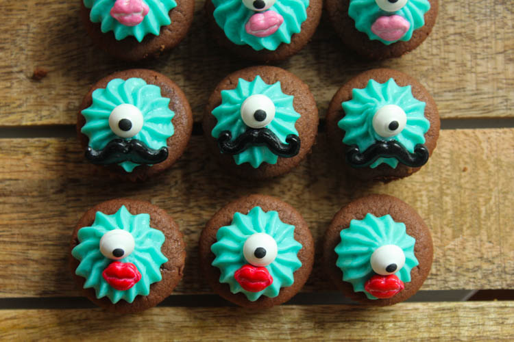 Mini Cupcakes Monster