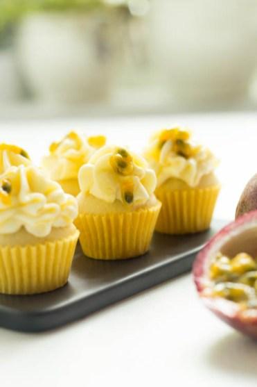 Mini Cupcakes Maracuja Passionsfrucht