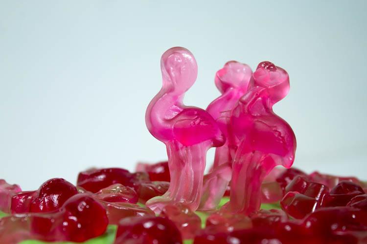 Flamingotorte