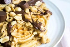 Rezept Erdnussbutterwaffeln