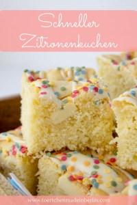 Rezept Zitronenkuchen mit weißer Schokolade