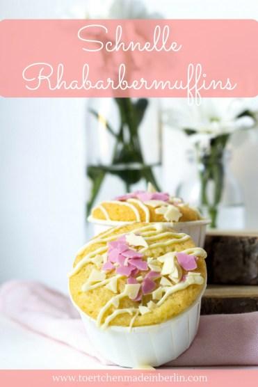 Rezept Rhabarbermuffins