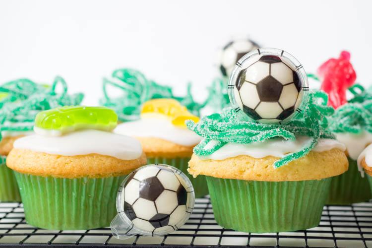 Fußball Muffins