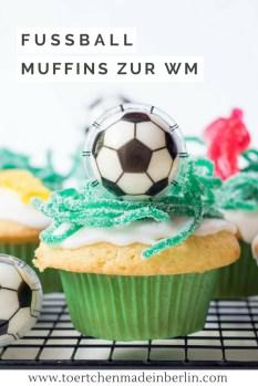 Rezept Fußball WM Muffins