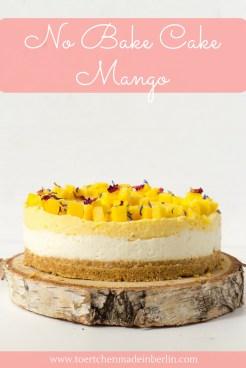 No Bake Cake Mango