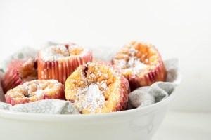 Rezept Käsekuchenmuffins mit Johannisbeeren