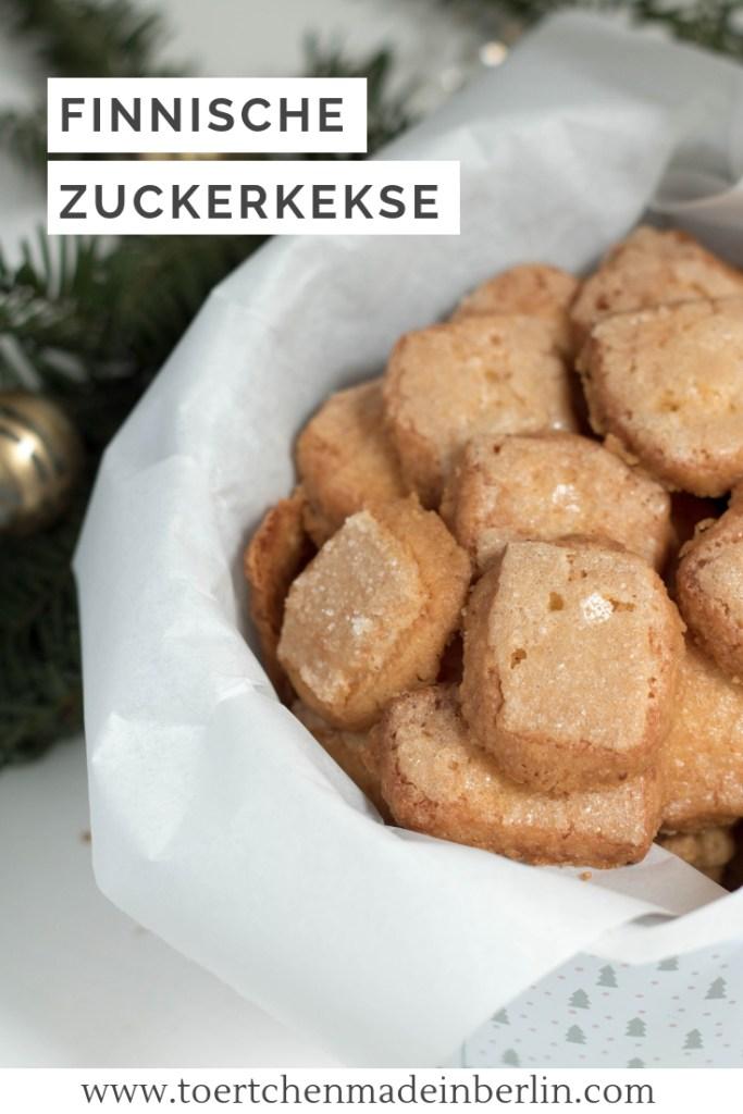 Finnische Zuckerkekse