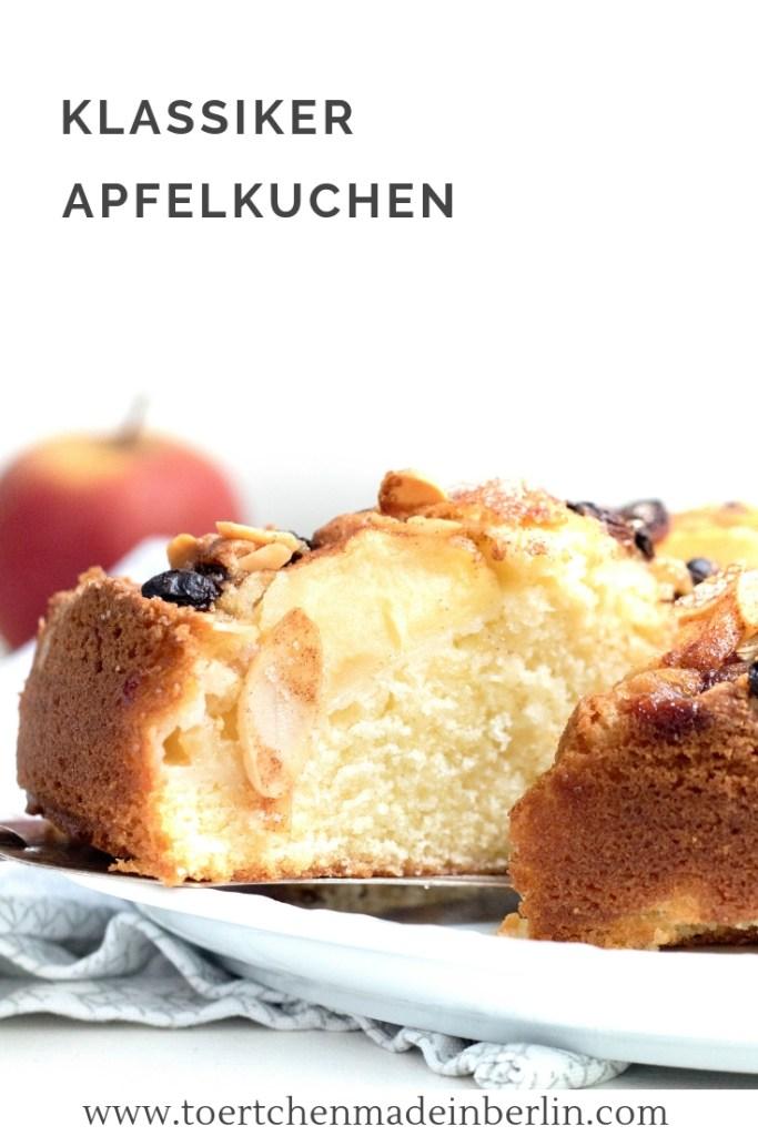 Rezept Klassischer Apfelkuchen
