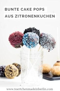 Rezept Cake Pops Zitronenkuchen Zartbitterschokolade
