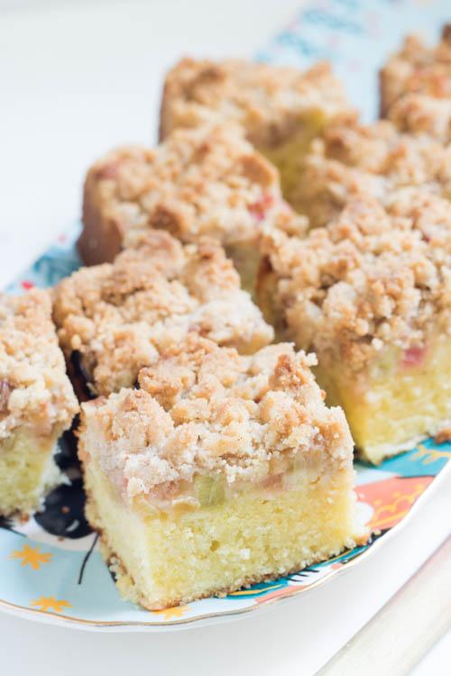 Rezept Streuselkuchen mit Rhabarber