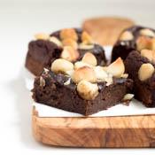 Rezept Vegane Avocado Brownies