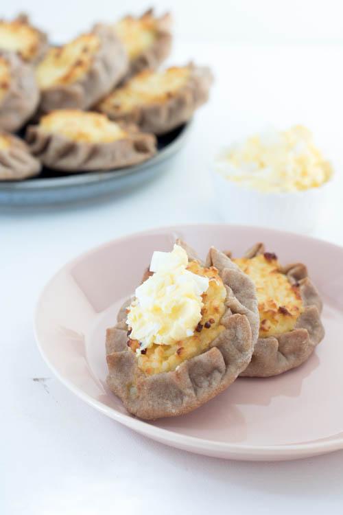 Rezept Finnische Spezialität Karelische Piroggen