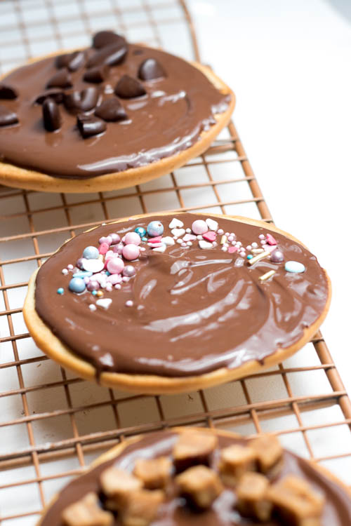 Rezept Amerikaner mit Schokolade